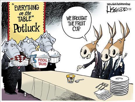 potluck budget