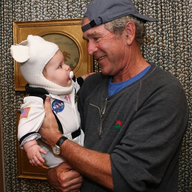 president bush halloween