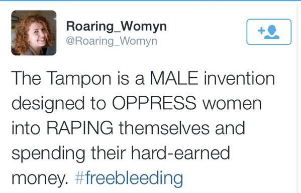 tampons as rape